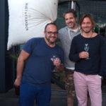 Dr. Marco Schwan mit Dr. Howard Gluckman Kapstadt ZA / und Dr. Mikkel Ro Larsen Tundren DK